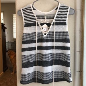 Brand new Riv Knot Stripe Tank. New with tags.
